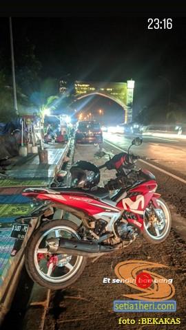 Motor bekas kecelakaan, benarkah bikin celaka ulang lagi (1)