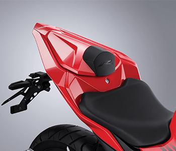 Daftar aksesoris dan apparel Honda CBR150R tahun 2021 single-seat-cowl-2-2