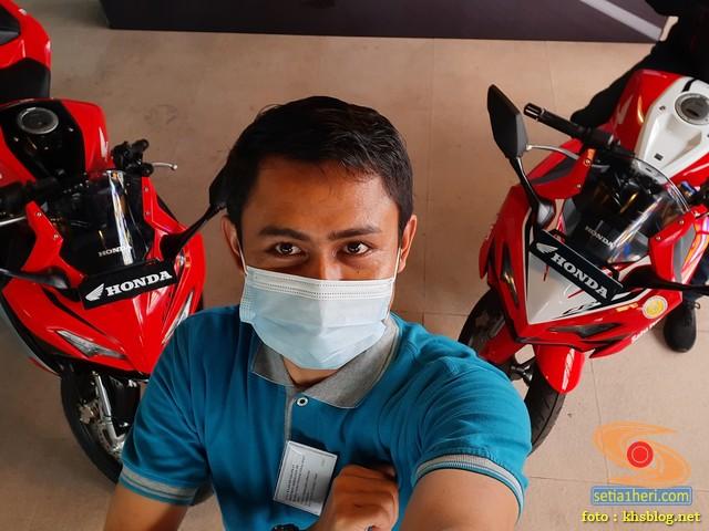 Pandangan pertamax Honda CBR150R 2021, bikin ngiler gans.. (5)