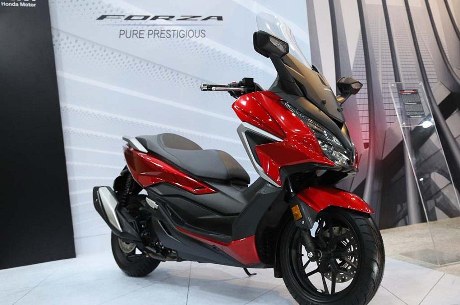 Honda Forza tahun 2021, desain baru dan lebih mewah prestisius