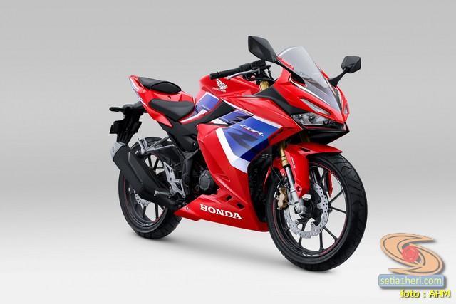 Honda _CBR150R tahun 2021 warna tricolor