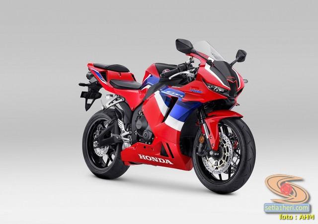 Honda hadirkan super sport CBR600RR 2021 Tricolor