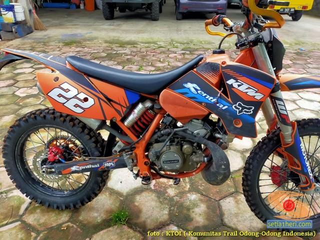 Modif Trail basis mesin Kawasaki Ninja 2 tak 2021 (4)