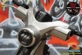 Modif keren Honda Super Cub basis mesin dan rangka Astrea Grand