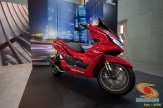 Modifikasi All new Honda PCX 160 tahun 2021 rasa sporty big scooter (1)