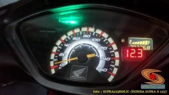 Ragam posisi pasang voltmeter di speedometer Honda Supra X 125, monggo disimak gans (2)
