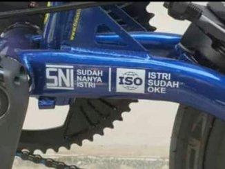 Istilah wajib SNI dan ISO dalam dunia biker yang sudah beristri...xixixixi