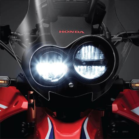 lampu depan Facelitf Honda CRF250 RALLY tahun 2021