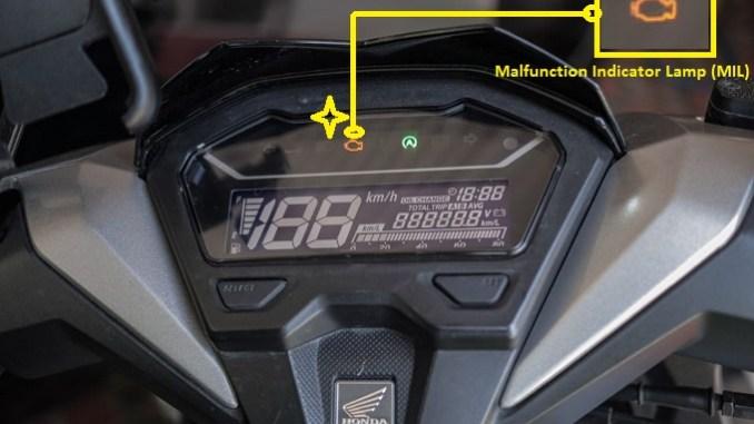 malfunction indicator lamp (MIL)