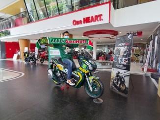 Inilah bonek Pemenang Lelang Honda ADV150 edisi Persebaya tahun 2021