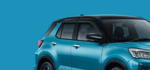 Gambar detail, daftar harga dan pilihan warna Toyota Raize tahun 2021 (11)