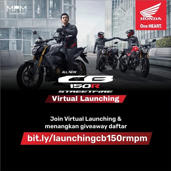 Honda CB150R StreetFire 2021 siap Di Launching Di Jatim dan NTT, ada pameran virtual gans...