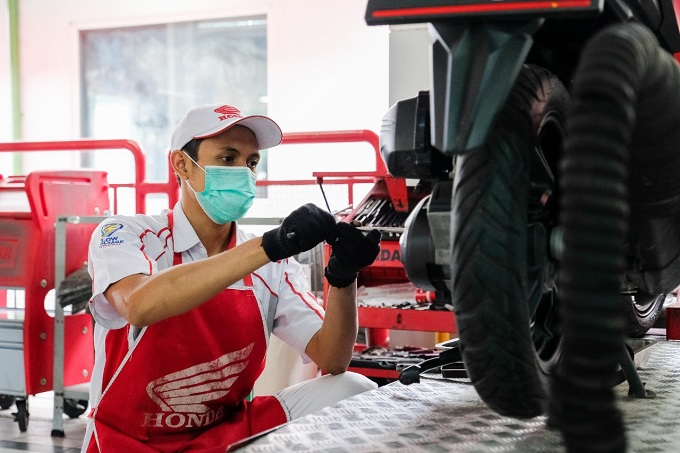 Servis motor tak cuma ganti Oli saja, Komponen ini juga wajib diperhatikan gans...