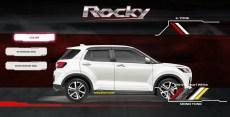 pilihan warna putih daihatsu rocky tahun 2021