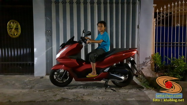 setia1heri test ride honda pcx 2021