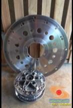 Cakram, Disc atau piringan PSM Titanium atau Kumis Steinles untuk motor harian monggo disimak gans. (3)