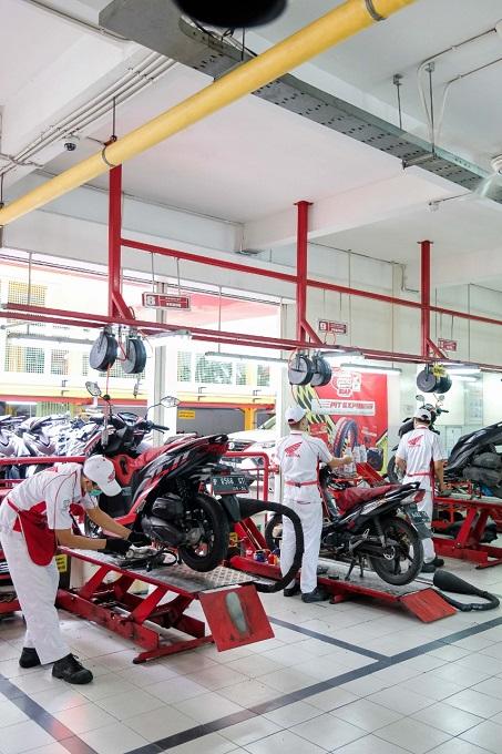 Promo servis spesial khusus bagi Pahlawan Kesehatan dari MPM Honda Jatim