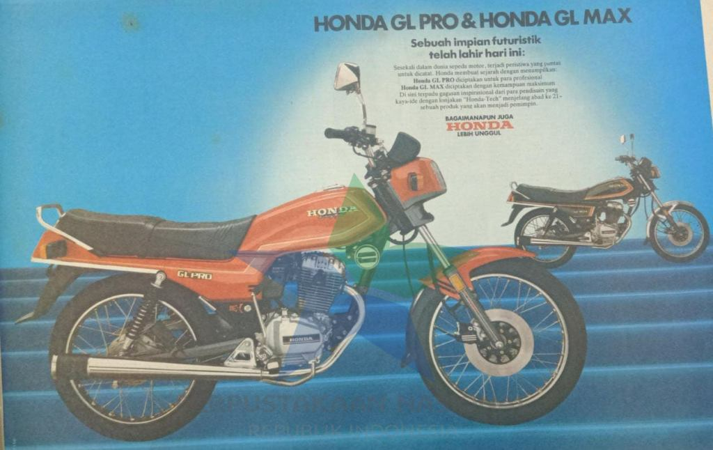 arti GL pada Honda GL series (Honda GL Max, GL 100 dan GL Pro)