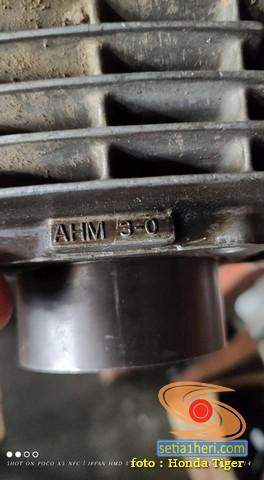 Mengenal kode silinder blok mesin HM, HF dan AHM pada Honda Tiger, monggo disimak gans....