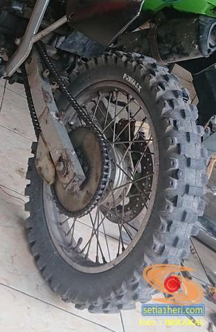 Pengalaman pakai gir dan rantai conveyor atau mesin industri pada sepeda motor trabass (3)