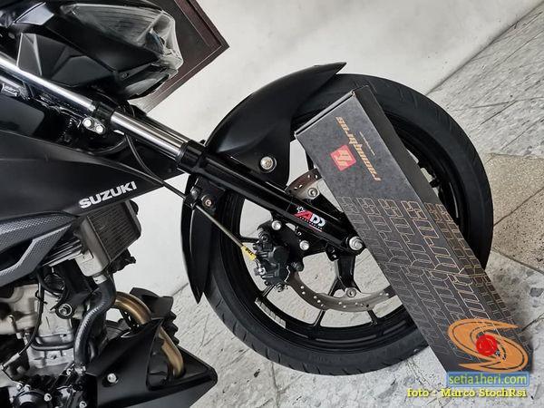 Pengalaman pasang RACINGBROS Anti Dive System dan tunning di Suzuki GSX S150 (2)