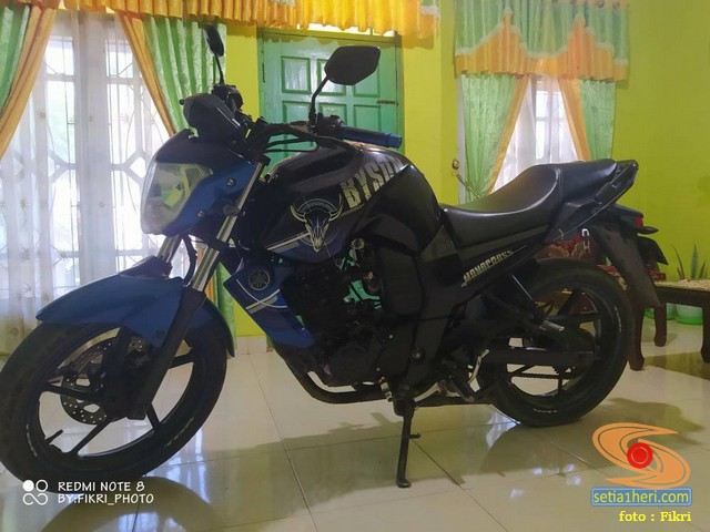 Modif Yamaha Byson tahun 2013 pakai bodi Xabre