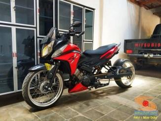 Modifikasi Honda CS1 pakai arm panjang asal Nganjuk, gokil gans.. (7)