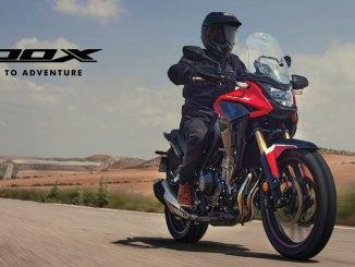 Warna dan fitur baru moge Honda CB500X tahun 2021