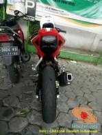 Modif Honda CBR150R lepas spatbor belakang