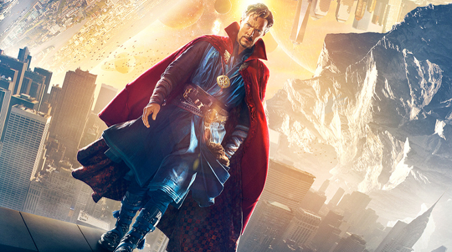 f695eab3d1e 6 de novembro de 2016 Doutor Estranho  Marvel emplaca 14ª estreia em  primeiro lugar