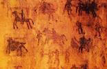 تخریب نگاره های باستانی غار دوشه در لرستان