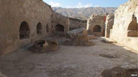 کشف کوشک ساسانی در کوهدشت لرستان