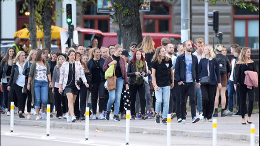 Nu är vi en miljon i Göteborgsregionen