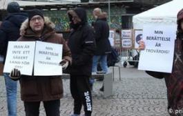 اعتصاب غذای پناهجویان ایرانی در سوئد