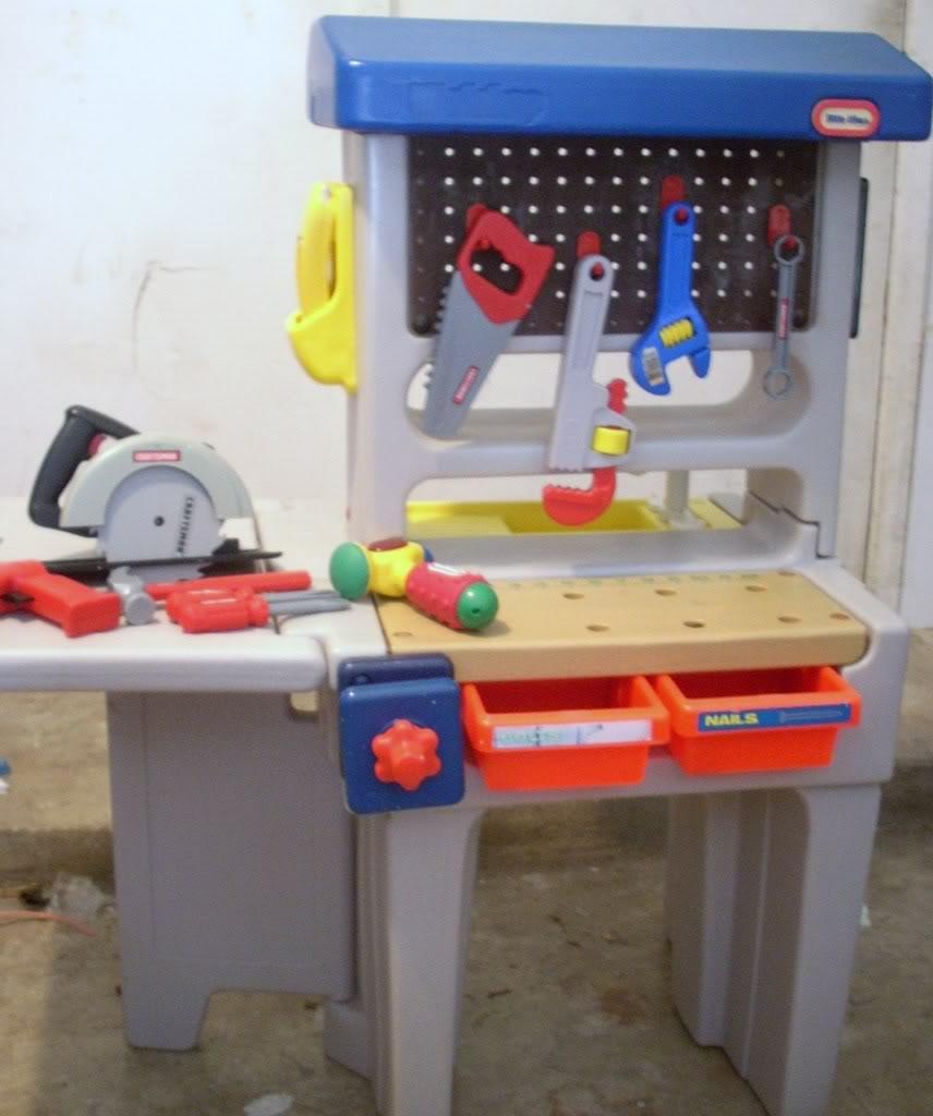 Moorabbin Area Toy Library 117 Little Tikes Workshop