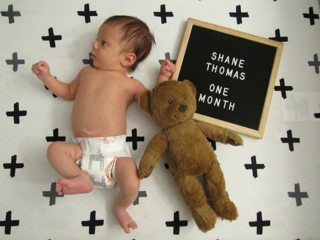 Shane Thomas: One Month