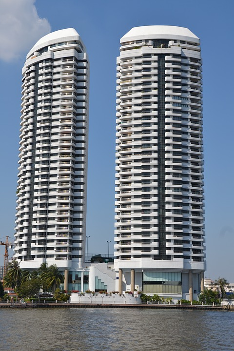two-apartment-buildings