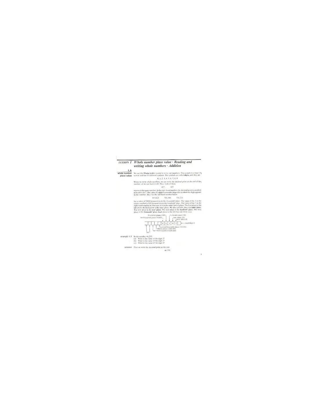 Saxon Algebra 1 2 2nd Ed Text Used