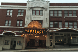 The Palace Theatre is a central attraction in Greensburg, hosting a variety of musical acts. Photo courtesy of R.Solomond/Setonian