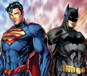 Batman and Superman are important faces in comics. Photo from the houseofgeekery.com