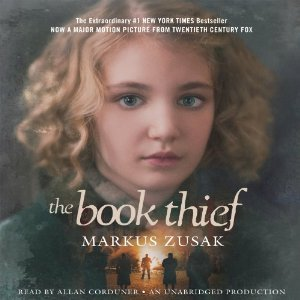The Book Thief was the summer reading book for the class of 2018. Photo from audible.com