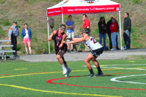 Oct. 15 will be the final day of the fall season for the women's lacrosse team. Photo courtesy of D.Clark.
