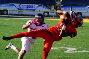 The SHU football team plays Gannon University Oct. 15. Photo courtesy of J.Palmer.