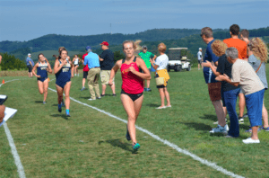 Senior Alyssa Brandis is from Mineral Point, Pa. and attended Central Cambria High School. Her bets time this year came at the Paul Short Invitational at Lehigh where she clocked in with a stellar 22:45 in the 6K meet. Photo courtesy of D.Clark/Setonian.