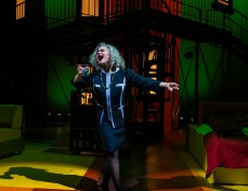 """Joanne (Maddie Kocur) sings """"The Ladies Who Lunch"""" during Seton Hill University's production of """"Company"""" from Oct. 19-27."""