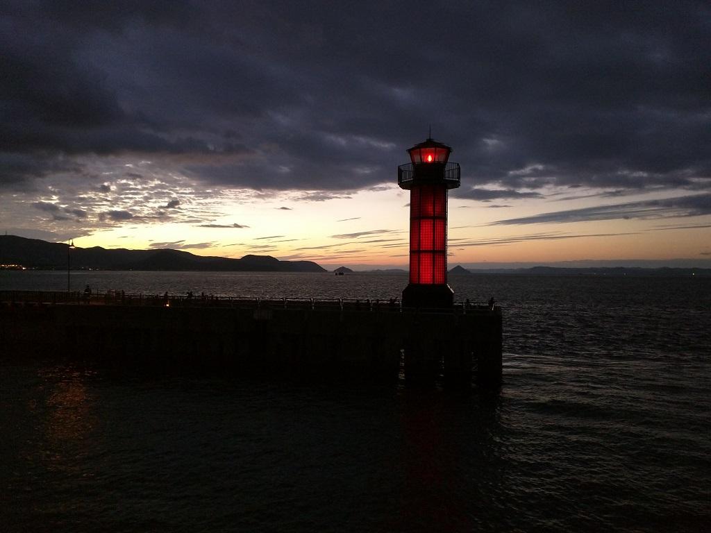 Takamatsu's Red Lighthouse