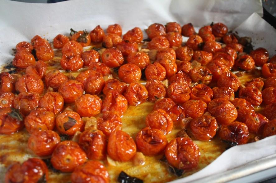 Tomato, Basil, Garlic Confit