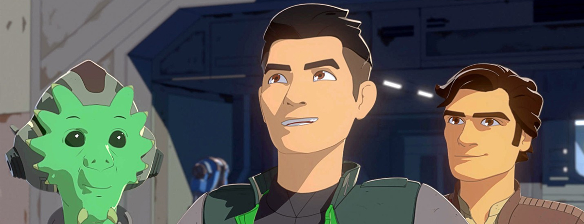Star Wars Resistance 1x01/02 - TV Review