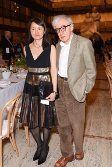 Soon-Yi Previn, Woody Allen== Youth America Grand Prix's 2017 Stars of Today Meet the Stars of Tomorrow Gala== David H. Koch Theater, Lincoln Center, NYC== April 13, 2017== ©Patrick McMullan== Photo - Presley Ann/PMC== == Soon-Yi Previn; Woody Allen