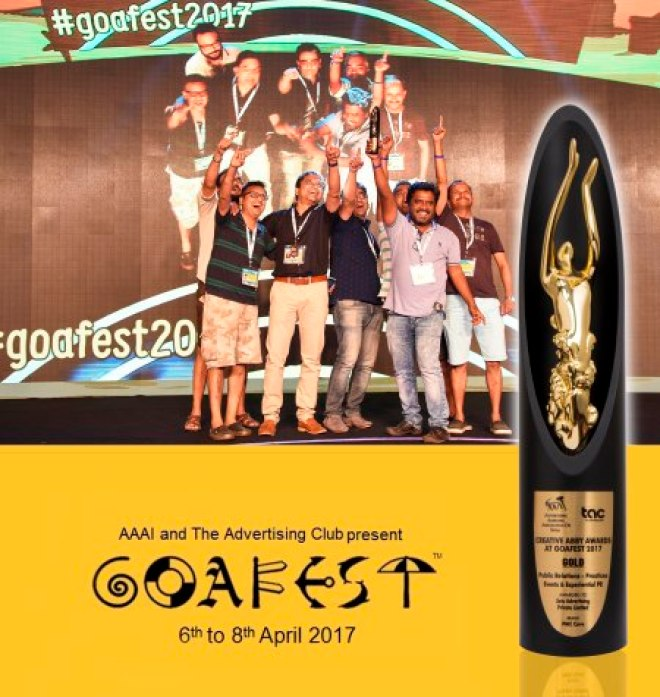 Goafest award 2017